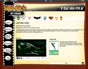 Super-heróis no cinema