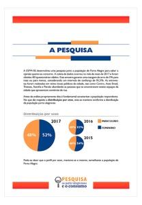 Pesquisa Os Portoalegrenses e o Consumo - Página Interna